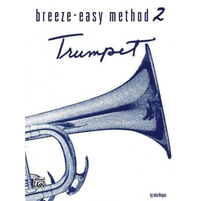 ALFRED PUBLISHING BREEZE EASY METHOD VOL.2 - TROMPETTE