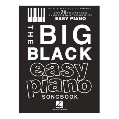 HAL LEONARD THE BIG BLACK EASY PIANO SONGBOOK