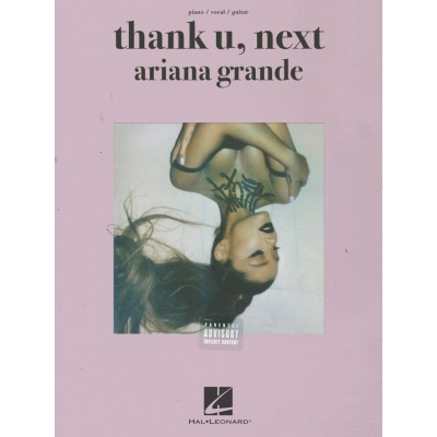 HAL LEONARD ARIANA GRANDE - THANK YOU, NEXT - PVG