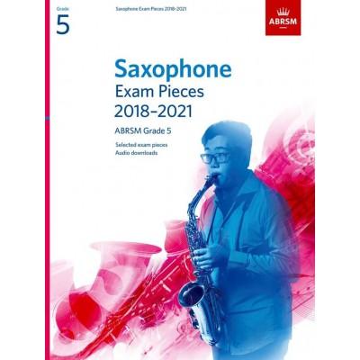 ABRSM PUBLISHING SAXOPHONE EXAM PIECES 2018-2021 GRADE 5