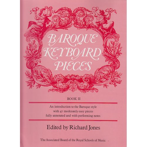 ABRSM PUBLISHING JONES - BAROQUE KEYBOARD PIECES VOL. 2