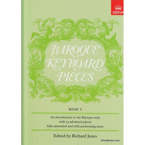 ABRSM PUBLISHING JONES - BAROQUE KEYBOARD PIECES VOL. 5