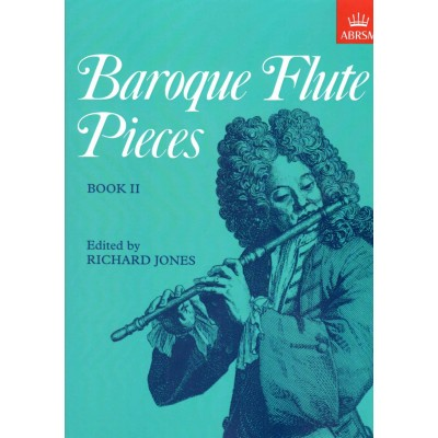 ABRSM PUBLISHING JONES R. (ED.) - BAROQUE FLUTE PIECES VOL.2