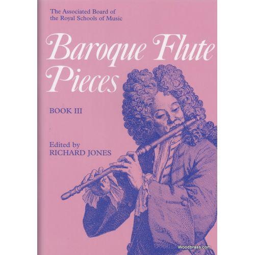 ABRSM PUBLISHING JONES R. (ED.) - BAROQUE FLUTE PIECES VOL. 3