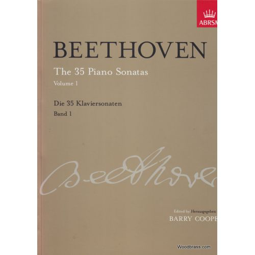 ABRSM PUBLISHING BEETHOVEN L. (VAN) - THE 35 PIANO SONATAS VOL. 1-3