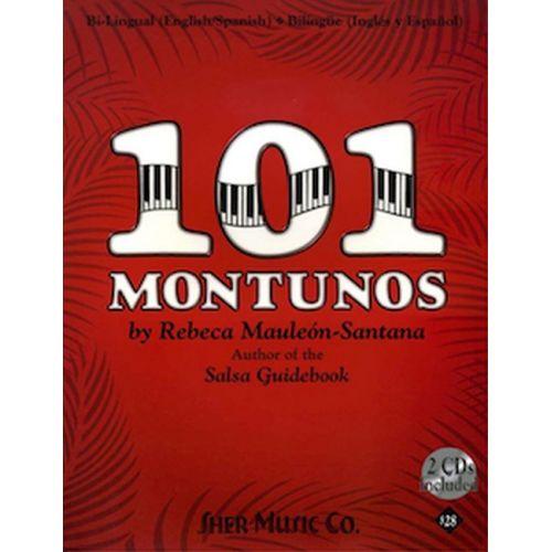 SHER MUSIC REBECA MAULEON-SANTANA - 101 MONTUNOS