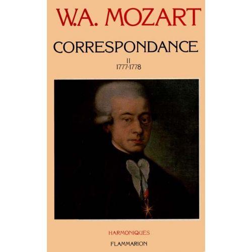 FLAMMARION MOZART W.A. - CORRESPONDANCE VOL.2 1777-1778