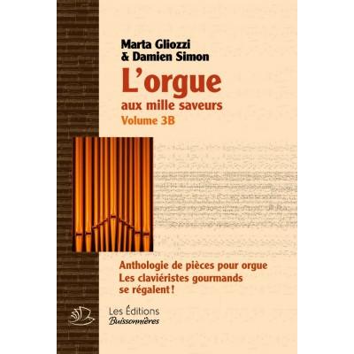 LES EDITIONS BUISSONNIERES GLIOZZI M./ SIMON D. - L'ORGUE AUX MILLES SAVEURS VOL.2