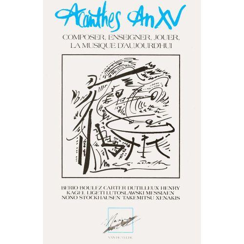 VAN DE VELDE GILLY C./ SAMUEL C. - ACANTHES AN XV