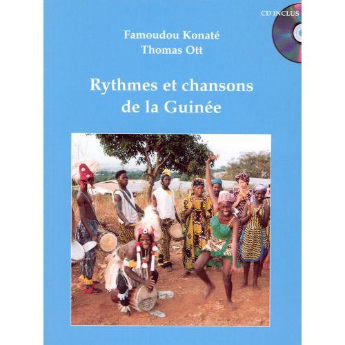 VAN DE VELDE KONATE F./ OTT T. - RYTHMES ET CHANSONS DE LA GUINEE + CD - PERCUSSION