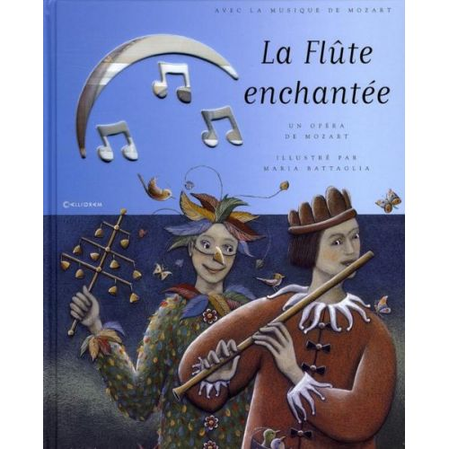 CALLIGRAM MOZART W.A. - LA FLUTE ENCHANTEE + CD