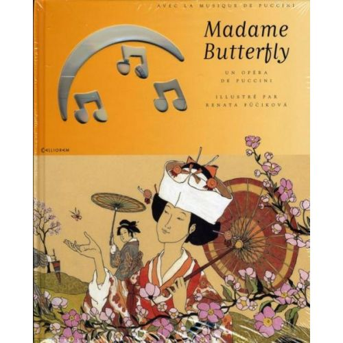 CALLIGRAM PUCCINI G. - MADAME BUTTERFLY + CD