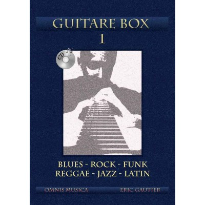 OMNIS MUSICA GAUTIER E. - GUITAR BOX 1 + CD