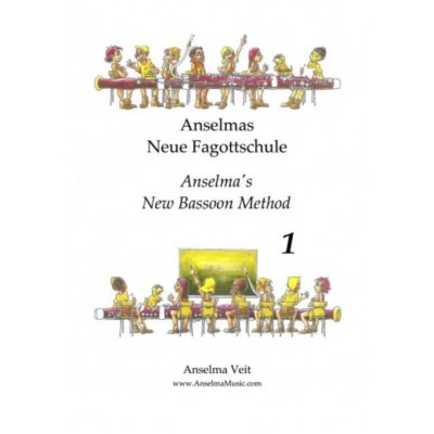 ANSELMA MUSIC VELT ANSELMA - ANSELMA'S NEW BASSOON METHOD BOOK 1
