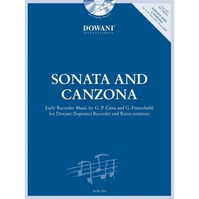 DOWANI SONATA AND CANZONA - FLB SOPRANO ET BC