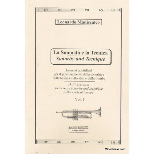 EDIZIONI ESARMONIA MANISCALCO L. - SONORITY AND TECHNIQUE VOL. 1 - TROMPETTE