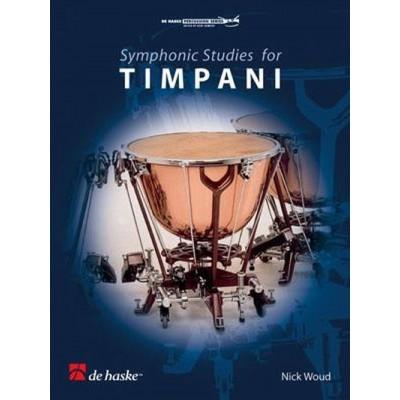 DEHASKE NICK WOUD - SYMPHONIC STUDIES FOR TIMPANI - TIMBALES