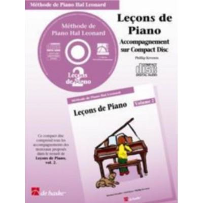 DEHASKE CD SEUL - LECONS DE PIANO VOL. 2