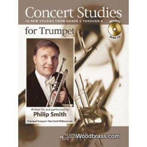 CURNOW SMITH P. - CONCERT STUDIES FOR TRUMPET