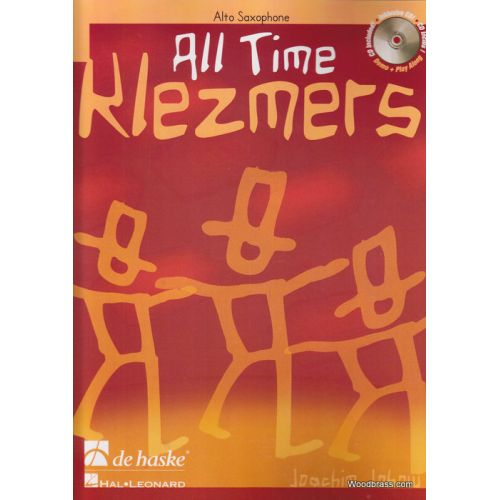 DEHASKE ALL TIME KLEZMERS - SAXOPHONE ALTO