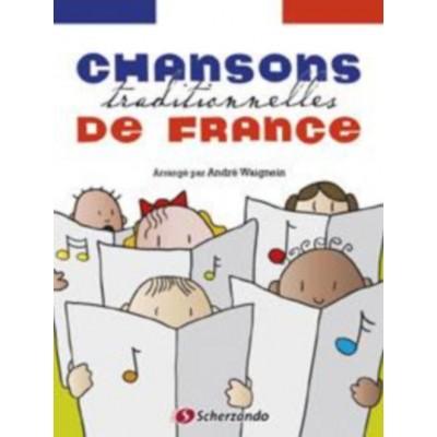DEHASKE CHANSONS TRADITIONNELLES DE FRANCE - FLUTE