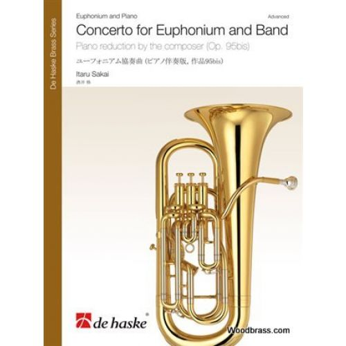 DEHASKE ITARU SAKAI - CONCERTO FOR EUPHONIUM AND BAND - PIANO REDUCTION