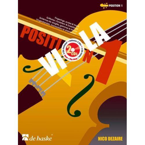 DEHASKE DEZAIRE NICO - VIOLA POSITION 1 + CD - ALTO