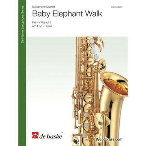 DEHASKE MANCINI H. - BABY ELEPHANT WALK - 4 SAXOPHONES