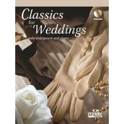 FENTONE MUSIC CLASSICS FOR WEDDING - FLUTE & PIANO + CD
