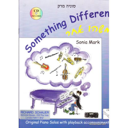 SCHAUER MARK SONIA - SOMETHING DIFFERENT + CD