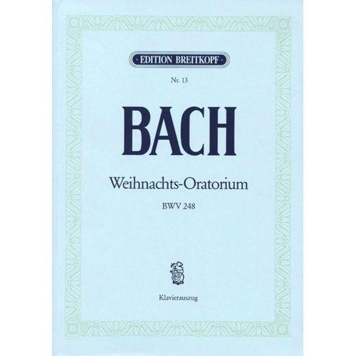 EDITION BREITKOPF BACH J.S. - ORATORIO DE NOEL BWV 248