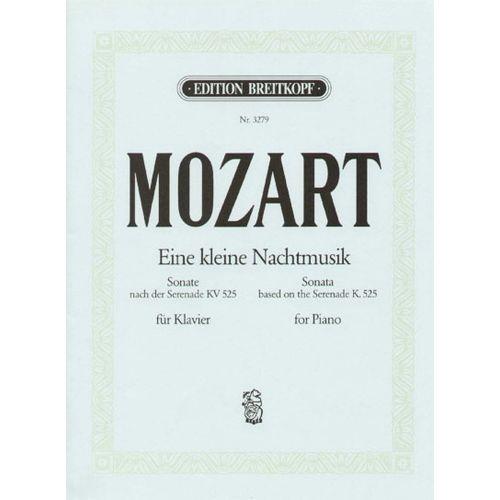 EDITION BREITKOPF MOZART WOLFGANG AMADEUS - EINE KLEINE NACHTMUSIK G KV525 - PIANO