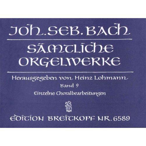 EDITION BREITKOPF BACH J.S. - SAMTLICHE ORGELWERKE, BAND 9