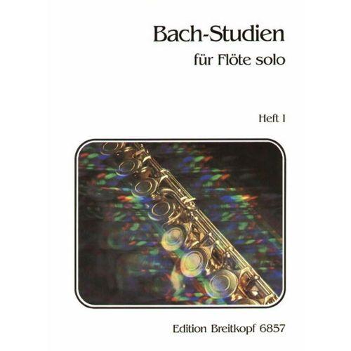 EDITION BREITKOPF BACH-STUDIEN FUR FLUTE, HEFT 1