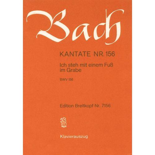 EDITION BREITKOPF BACH J.S. - KANTATE 156 ICH STEH MIT EINEM