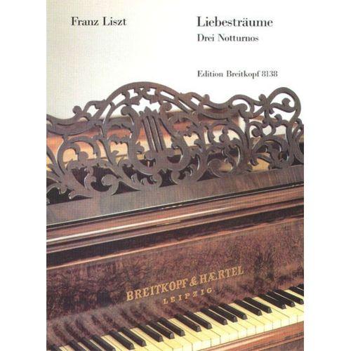 EDITION BREITKOPF LISZT FRANZ - LIEBESTRAUME. DREI NOTTURNOS - PIANO