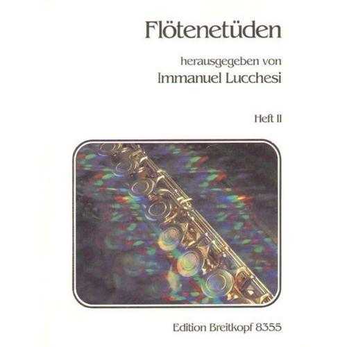 EDITION BREITKOPF LUCCHESI I. - FLOTENETUDEN, HEFT 2