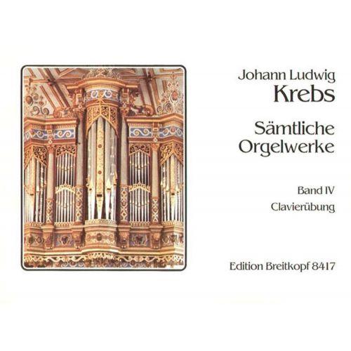 EDITION BREITKOPF KREBS J.L. - SAMTLICHE ORGELWERKE 2 PRAKT.