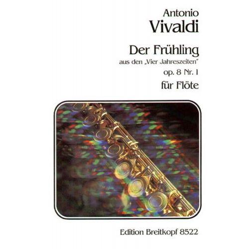 EDITION BREITKOPF VIVALDI ANTONIO - FRUHLING AUS