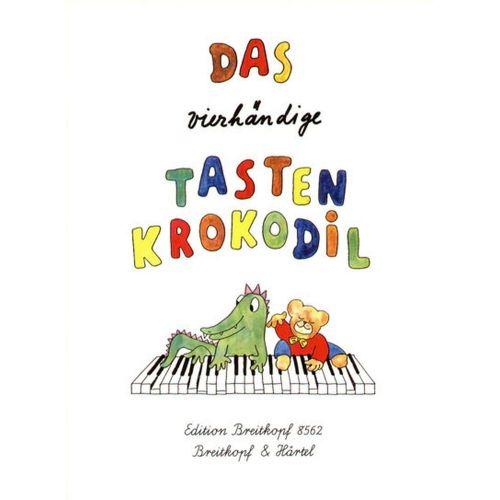 EDITION BREITKOPF DAS VIERHANDIGE TASTENKROKODIL