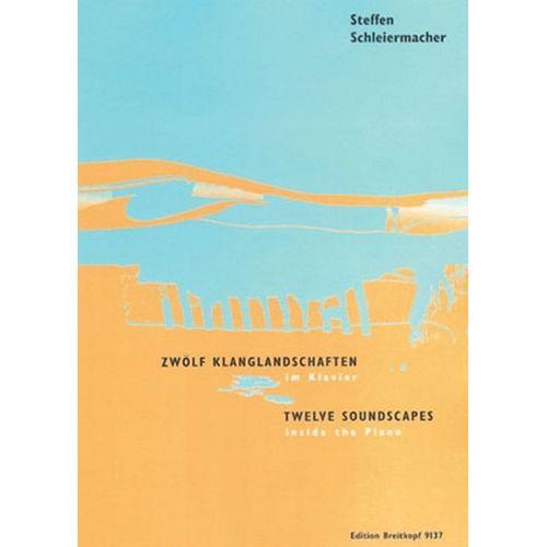 EDITION BREITKOPF SCHLEIERMACHER STEFFEN - 12 KLANGLANDSCHAFTEN IM KLAV + CD - PIANO