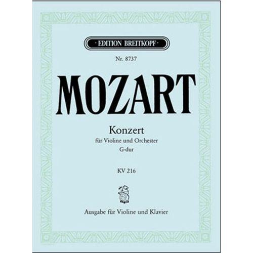 EDITION BREITKOPF MOZART W.A. - VIOLINKONZERT 3 G-DUR KV 216