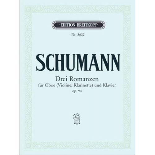 EDITION BREITKOPF SCHUMANN R. - DREI ROMANZEN OP. 94
