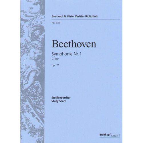 EDITION BREITKOPF BEETHOVEN L.V. - SYMPHONIE NR. 1 C-DUR OP. 21
