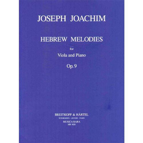 MUSICA RARA JOACHIM JOSEPH - HEBRAEISCHE MELODIEN OP. 9 - VIOLA, PIANO