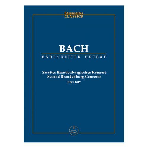 BARENREITER BACH J.S. - BRANDENBURG CONCERTO N° 2 BWWV 1047 F MAJOR