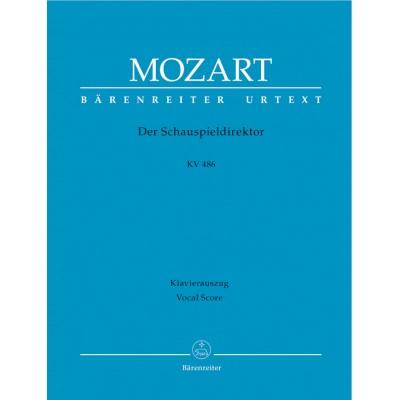 BARENREITER MOZART W.A. - DER SCHAUSPIELDIREKTOR KV 486 - CHANT, PIANO