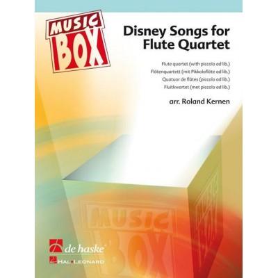 DEHASKE DISNEY SONGS FOR FLUTE QUARTET
