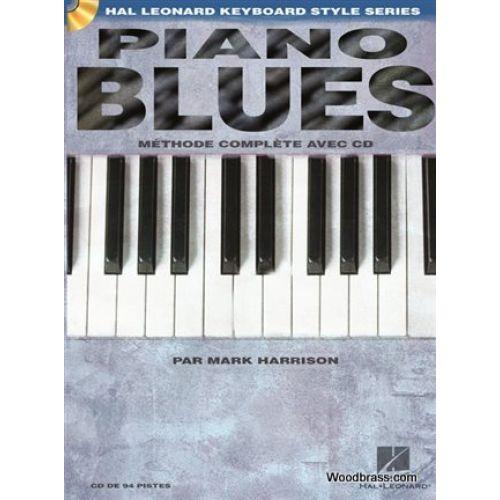 HAL LEONARD HARRISON MARK - PIANO BLUES + CD - EDITION FRANCAISE
