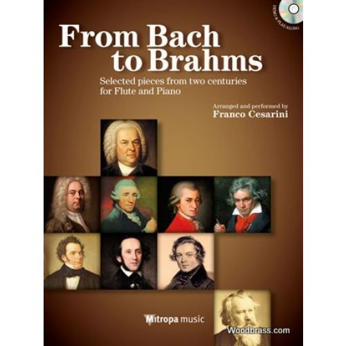 MITROPA MUSIC FROM BACH TO BRAHMS - SELECTED PIECES FROM TWO CENTURIES FOR FLUTE & PIANO